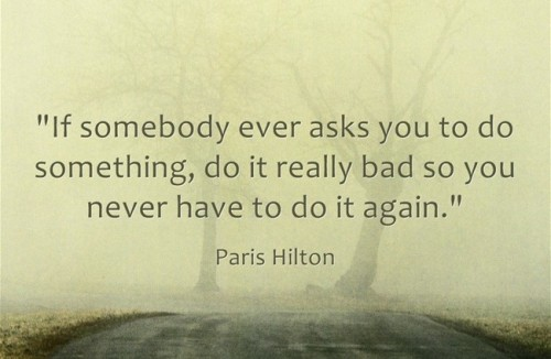 Paris Hilton quote